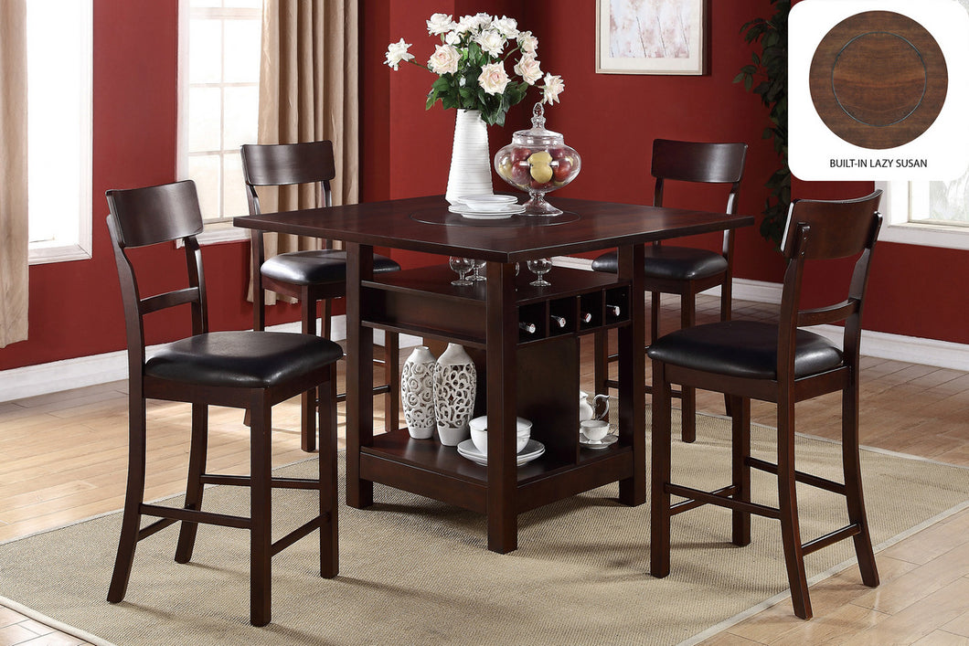 Counter Height Dining table and chairs - razoutlets furniture warehouse