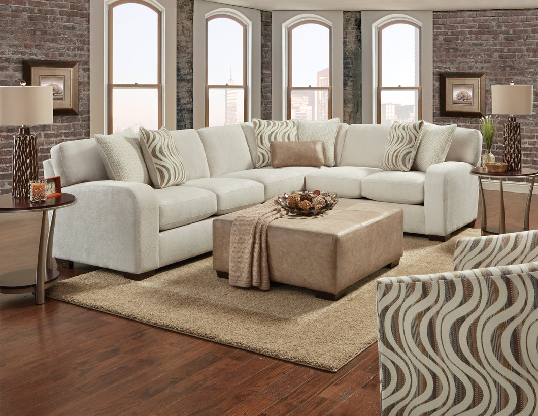 Oyster Contemporary Sectional | razoutlets |