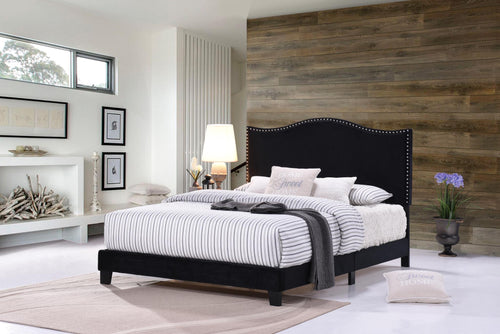 Chic platform bed frame in razoutlets