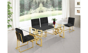 Pierre Gold Dining Table for living rooms