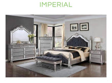 Imperial Bed Set with Dresser, Chest And Bench