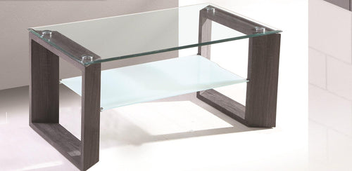 Beautiful Glass coffee table with Grey finish