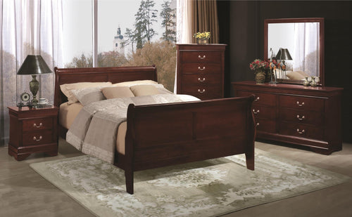 New Louis Philippe Bed Frame