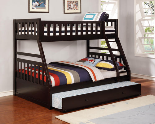 Bunk Bed With Trundle In Twin and Full Size - in RAZOUTLETS Furniture store in iowa usa