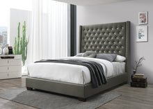 Gorgeous Tufted Bed Frame in Black or Grey