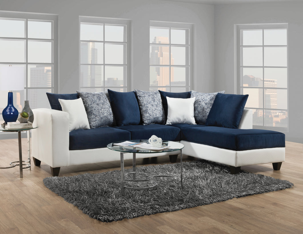 Blue Cat sectional sofa for living rooms | RAZOUTLETS furniture