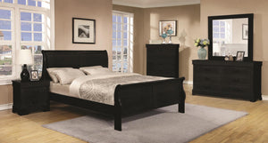 Louis Philippe Bed Frame in razoutlets