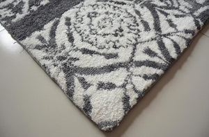 Memory Shaggy Rug In Grey Color