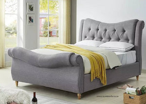 Amoire 5' Bed Frame and Manhattan Mattress