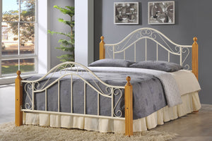 Baltimore CREAM Bed Frame