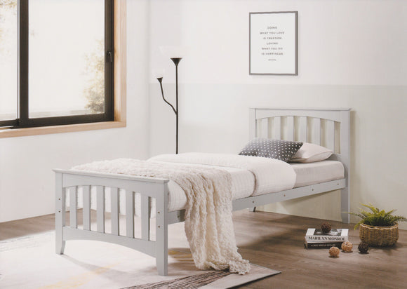 Carina Grey 3ft Bed Frame