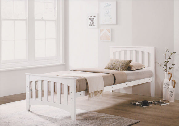 Carina 3ft WHITE Bed Frame HJ Furniture