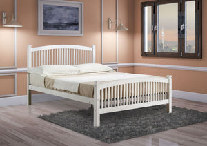 Carla WHITE Bed Frame