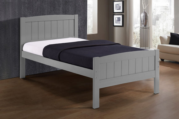 Cassie 3Ft Grey Bed Frame
