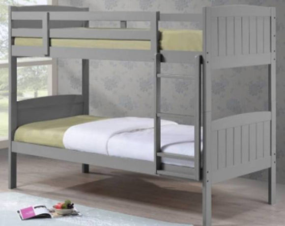 Grey Cassie Bunk Bed Complete