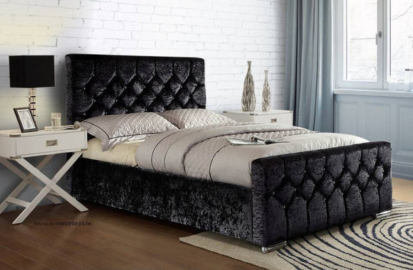 Glitz 5' King Bed and Willow Mattress