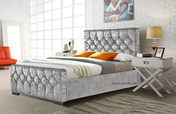 Glitz 4'6 Bed Frame and Willow Mattress