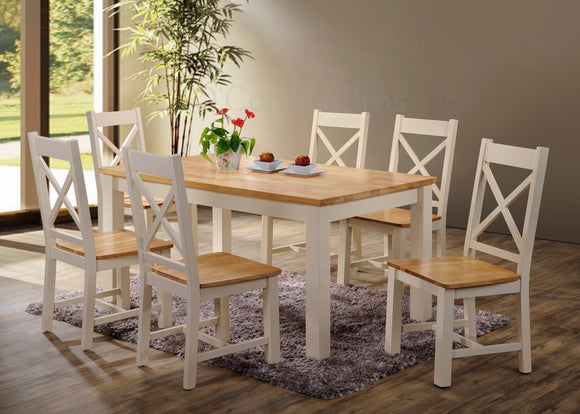 Rochester 5' Cream Dining Set