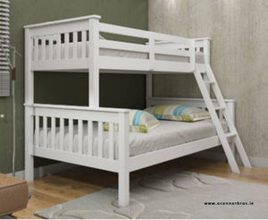 Triple Bunk Bed | White | Frame |