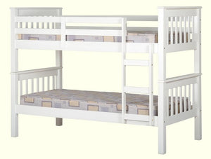 White Bunk Bed | White | Frame Only |