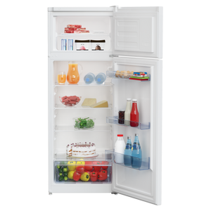 Beko TM1546W Top Mount Freestanding Fridge Freezer