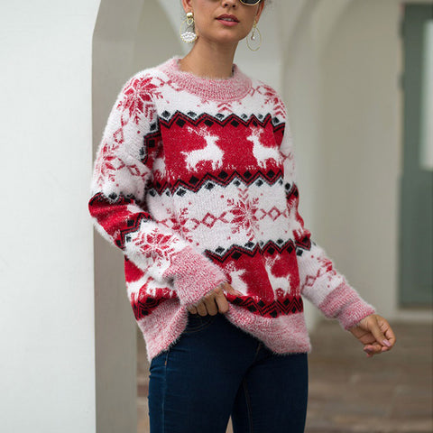 Christmas Collection-snowflake Sweater