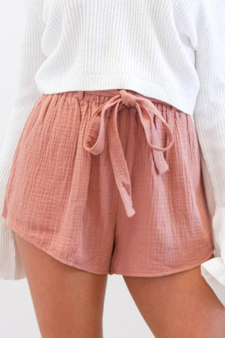Loose Fitting  Plain Shorts