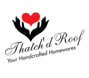 Thatch'd Roof, your homecrafted homewares. Specialising in handcrafted coconut spoons, items and accessories and tableware and handpainted cushion covers, napkins, table runners, toys and napkin rings
