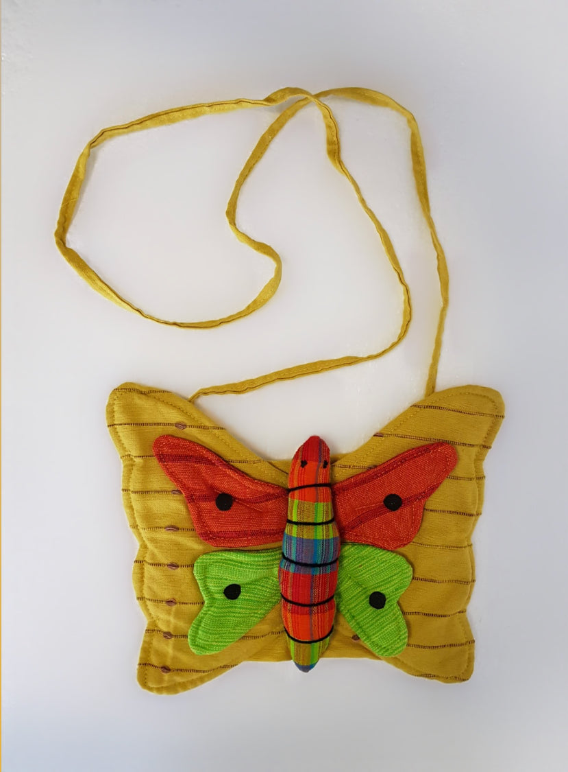 Yellow Butterfly Bag