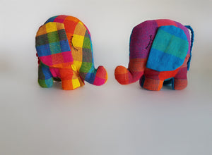 Handwoven Elephant Soft Toy