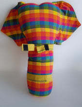 handwoven childrens elephant seat belt cover