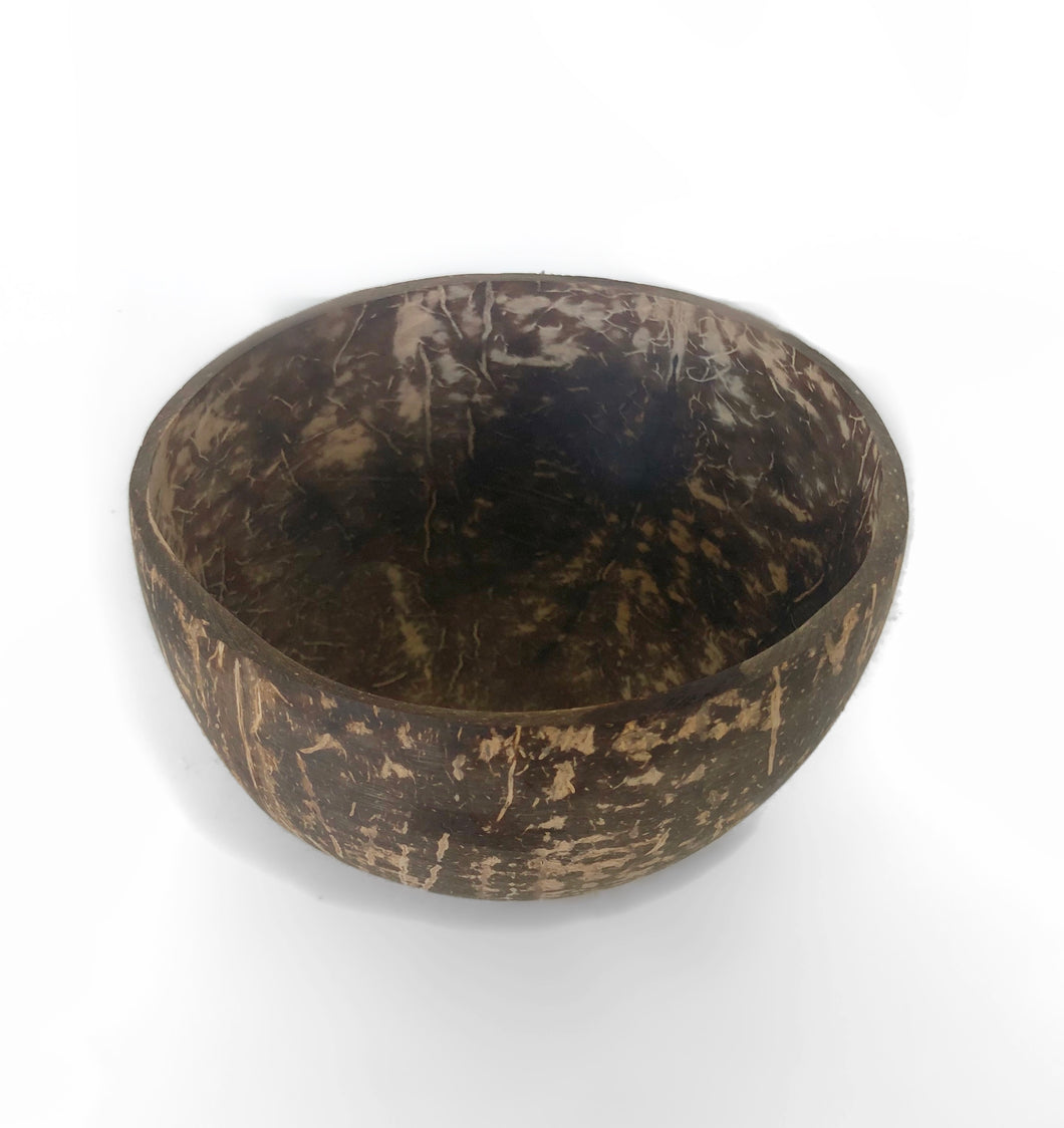 A natural look Coconut Bowl.