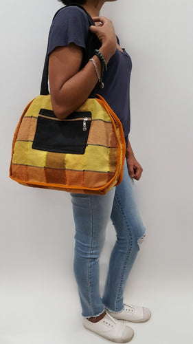 Handwoven Sri Lankan handbag, eco friendly, ethically sourced bag