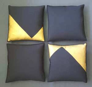 Hand Painted 'Elegance' Cushion Cover Set