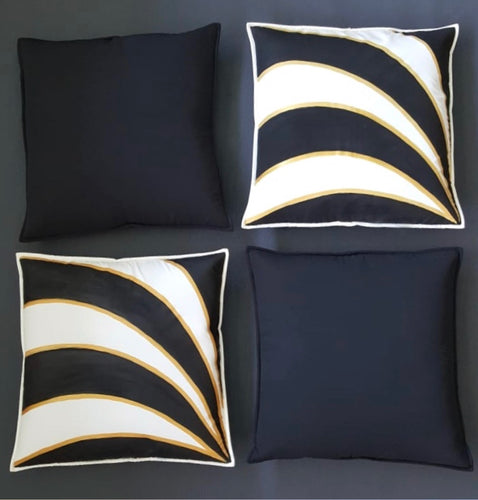 Hand Painted 'Glamour' Cushion Cover Set