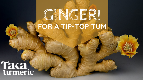 USE GINGER FOR A TIP-TOP TUMMY