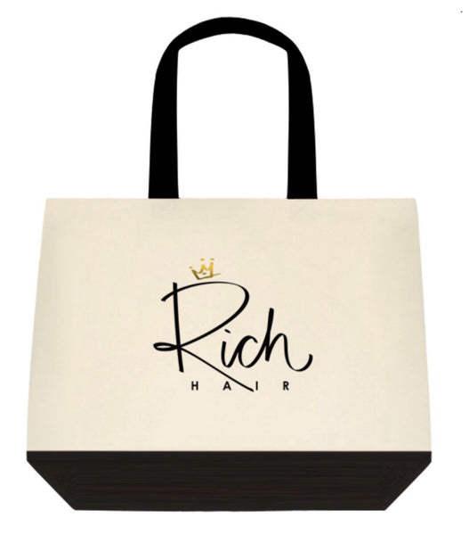 Rich Hair Canvas Bag