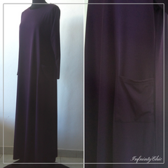 Abayas manches longues avec 1 poche - Infinity Chic