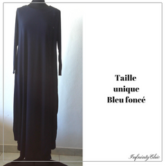 Abayas manches longues avec boutons - Infinity Chic