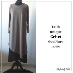 Abayas manches longues avec doublure - Infinity Chic