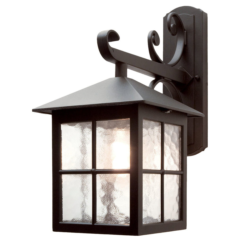 Winchester 1 Light Wall Down Lantern - Elstead Lighting