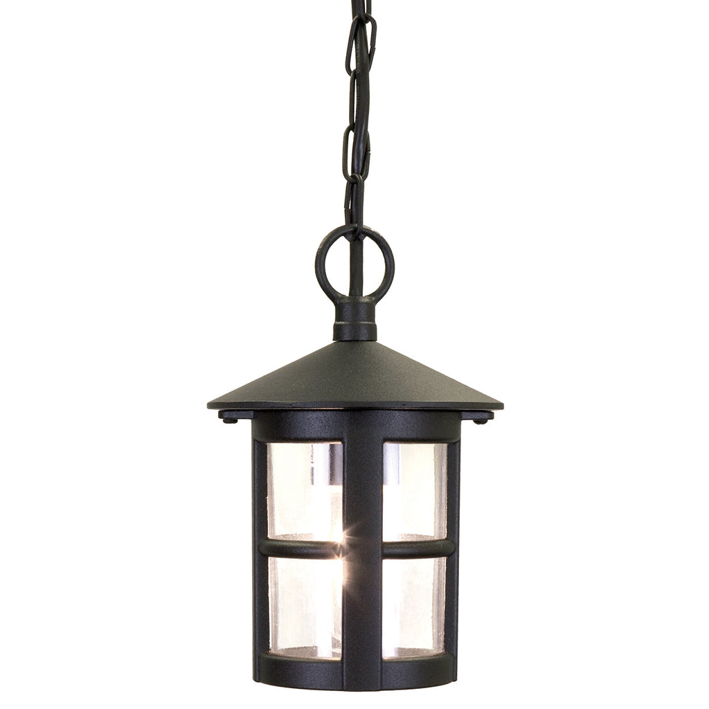 Hereford 1 Light Porch Chain Lantern - Elstead Lighting