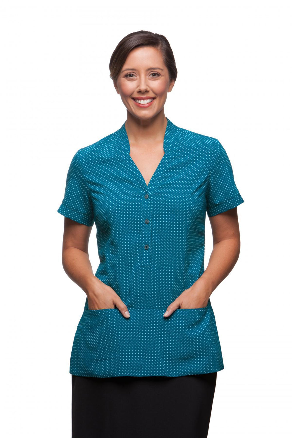 City Stretch Spot Tunic