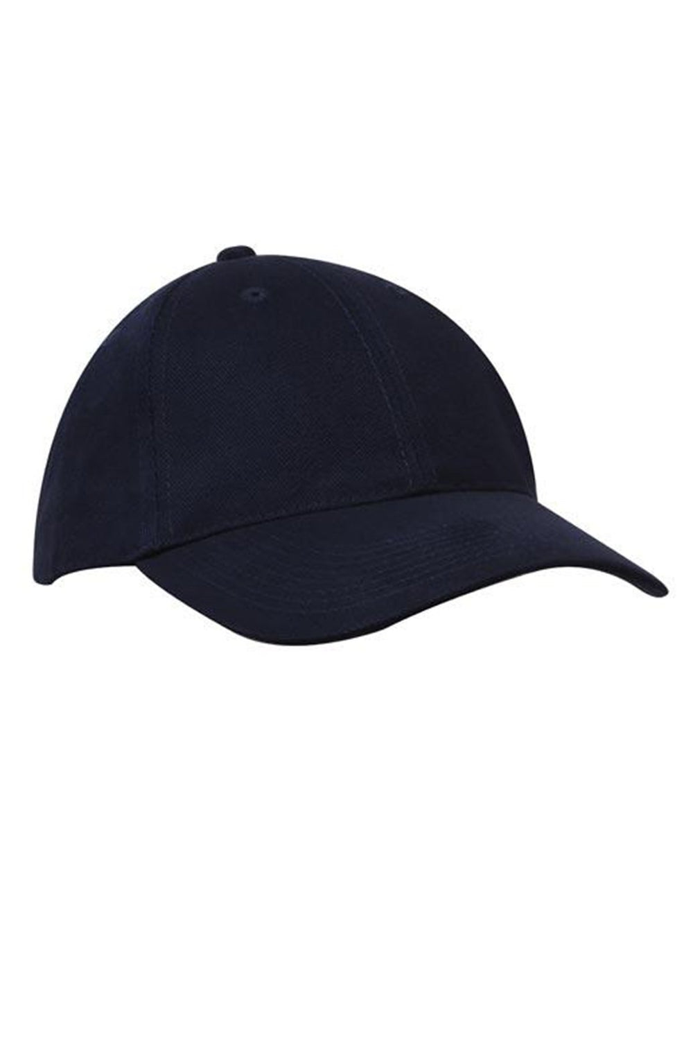 6 Panel Heavy Brushed Cotton Cap