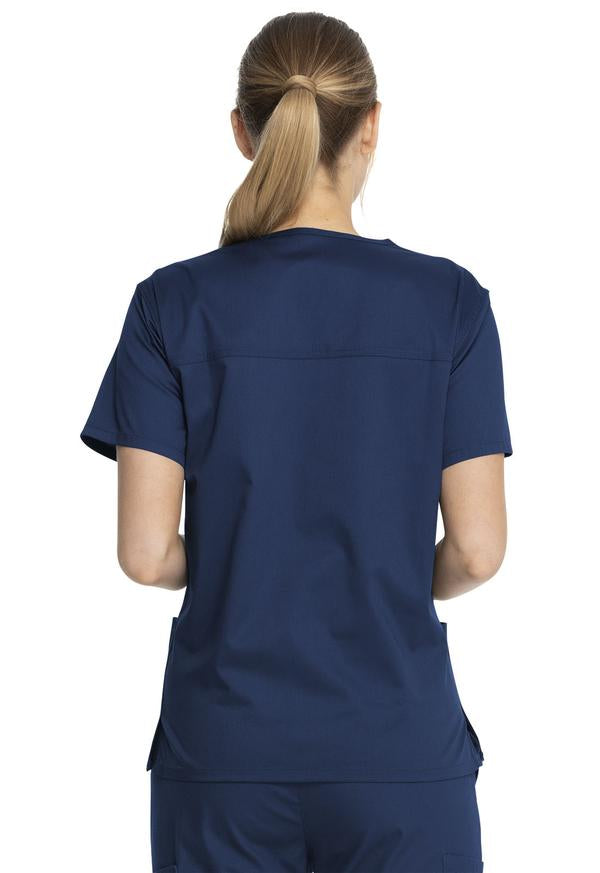 Dickies Industrial Unisex V-Neck Scrub Top