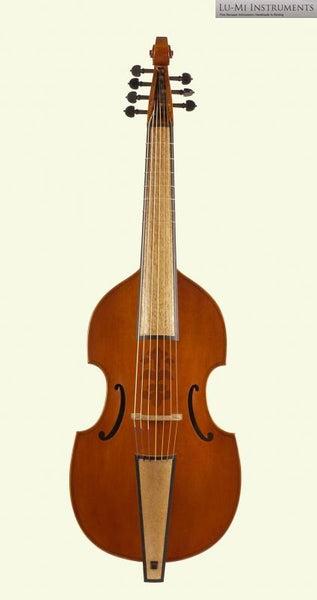 7-String Bass Viol after Nicolas Bertrand (1704) by Lu-Mi