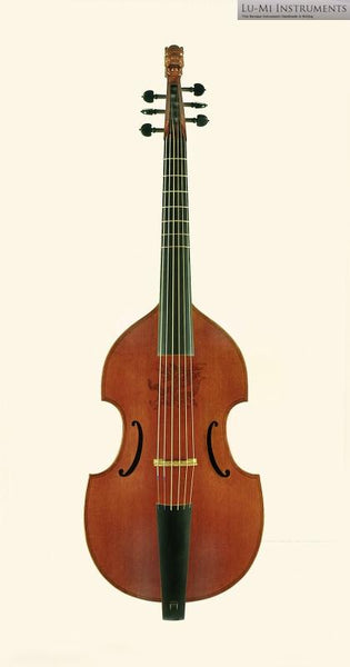6-String Consort Bass Viol after Henry Jaye (1620) by Lu-Mi