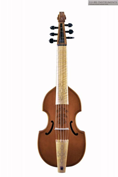Treble Viol after Henry Jaye (1620) by Lu-Mi