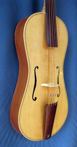 Custom 5-String Tenor Vielle by Bernie Lehmann