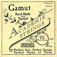 Acadamie Gut Strings for Bass Viol by Gamut